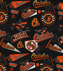 baltimore orioles vintage cotton fabric 58 u0027 u0027 vintage joann