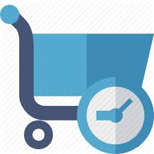 business buy clock ecommerce history shopping icon icon
