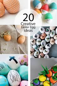 20 creative easter egg ideas little inspiration