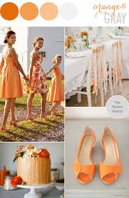 Color Combinations With Orange by Color Story Orange Gray The Perfect Palette