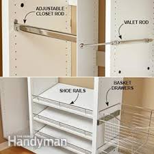 How To Build Shelves In Closet by Build Your Own Melamine Closet Organizer Family Handyman