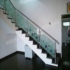Handrail Manufacturer Ss Railing With Glass Gl And Steel Railing Manufacturer In Delhi