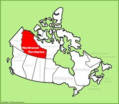 Capital Of Canada Map by Northwest Territories Maps Canada Maps Of Northwest