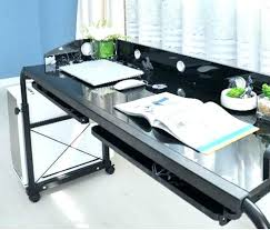 acrobat professional overbed laptop table laptop overbed table adjustable table laptop cart with wheels side