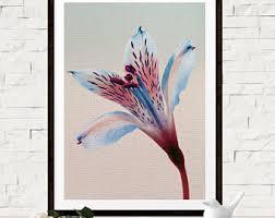 blue tiger lily etsy