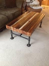 Furniture Homemade Coffee Table Solid Wood Coffee Table by Coffee Table Metal Table Base Kit Premier Comfort Heating Diy