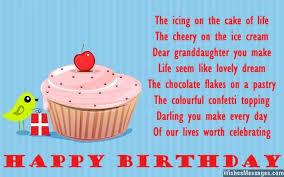 birthday poems for granddaughter u2013 wishesmessages com