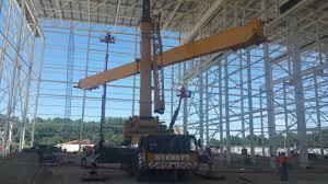 ltm1120 overhead crane assembly sterett crane rental