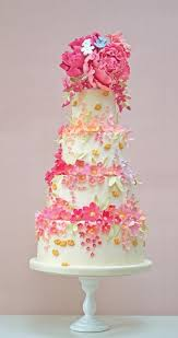cake tiers cake tiers of flowers 2040191 weddbook