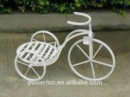 adorable metal tricycle plant stand ornament holder vase buy