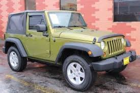 2007 green jeep wrangler and used jeep wrangler in tacoma wa auto com