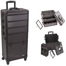 Professional Makeup Artist Organizer Sunrise Professional Makeup Artist Trolley Organizer Case In Black