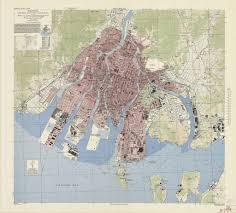 Harvard Map Hiroshima 1845 The Harvard Map Collection Presents