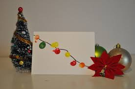 easy christmas cards to draw christmas lights decoration