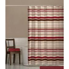 Shower Curtain At Walmart - maytex meridian fabric shower curtain red walmart com