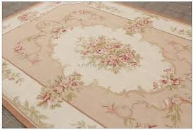 light pink wool rug 8x10 shabby french chic aubusson rug light pink ivory cream subtle