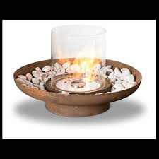 Ethanol Fire Pit by Fire Features Outdoor Clean Flames