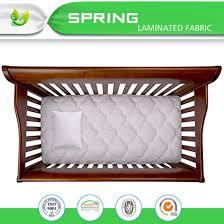 Vinyl Crib Mattress China Wholesale Vinyl Free Breathable Hypoallergenic Crib Mattress