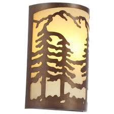 Oak Bathroom Light Fixtures by Wood Sconces Bathroom Lighting The Home Depot