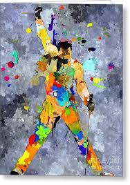 freddie mercury queen greeting cards page 2 of 8 fine art america
