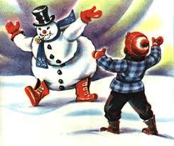 story frosty snowman