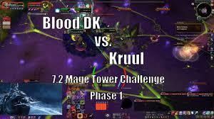 Challenge Blood Mage Tower Tank Challenge Kruul 7 2 Blood Dk Phase 1