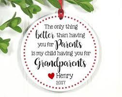 new grandparents ornament grandparents
