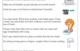 food safety worksheet worksheets