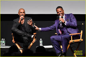 shemar reveals he does 500 sit ups a day shows abs on