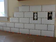 Subway Tile Backsplash Kitchen by Primus White 3x6
