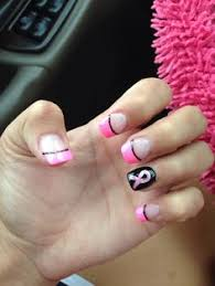 breast cancer nail design faith nails pinterest breast