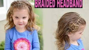 braided headband braided headband flower tutorial lace braid toddler hairstyle