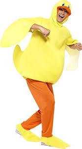 smiffy s unisex duck costume bodysuit