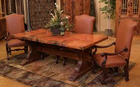 Copper Dining Room Tables Tuscany Dining Room Furniture Extraordinary Ideas Copper Dining