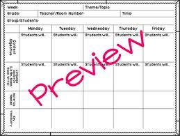 editable esl lesson plan templates by amber unger tpt