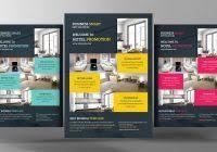 hotel promotion flyer template flyer templates creative market