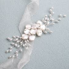 pearl hair accessories nidia keishi pearl hair vine donna crain accessories
