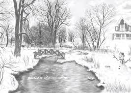 pencil scenery sketches nature sketches pencil drawing artisan
