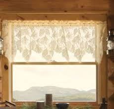 Pine Cone Lace Curtains Pine Cone Curtains Ebay