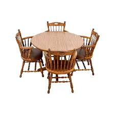 Round Wood Dining Room Tables 45 Off Counter Height Extendable Dining Table With Stools Tables