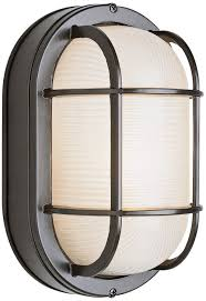 Bulkhead Outdoor Lights Trans Globe Lighting 41015 Bk Outdoor 11 Bulkhead Black