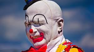clowns have officially drawn first blood in the clown war vice