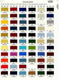 paint colors for volkswagen ideas paint chips 1967 karmann ghia
