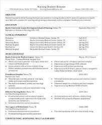 nurse resume 11 free word pdf documents download free