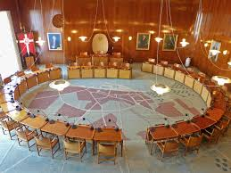 hugh jacobsen arne jacobsen and erik møller u0027s modernist city hall in aarhus