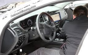 2015 Hyundai Genesis Interior 2015 Hyundai Genesis Spied On The Nurburgring