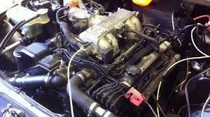 lexus v8 engine and gearbox mercedes 190e track car fitted with lexus 1uz fe v8 first start up