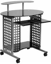 Desk With Top Shelf Savings On Computer Desk With Top Shelf Black Flash Furniture