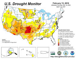 The National Map Current Drought Conditions In The United States Freese And