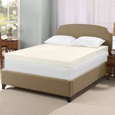 bedroom comfortable bed with smooth mattress topper for elegant